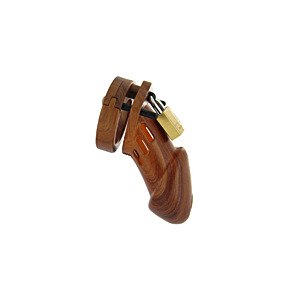 Win a CB6000 Wood Grain Chastity Device