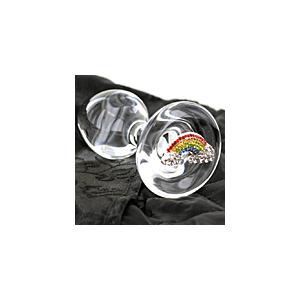 Win a Crystal Delights Rainbow Butt Plug