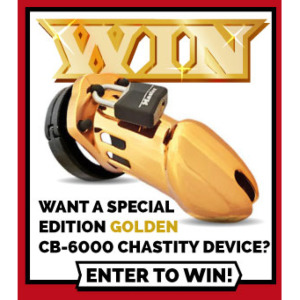 Win a Gold CB6000 in our Male Chastity Day 2016 Giveaway