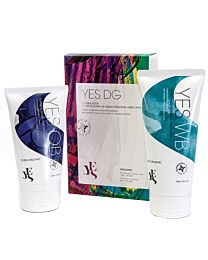 YES Natural Lubricant Double Glide Pack (100ml WB + 80ml OB) 1