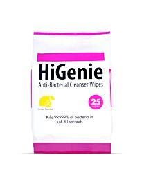 HiGenie Anti-Bacterial Cleanser Wipes 1
