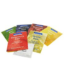 Pasante Mixed Flavoured Latex Dams - Pack of 6 1