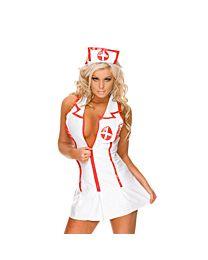 Sexy Vinyl Nurse Costume