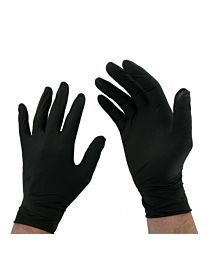 Black Surgical Gloves (Pack of 10) 1