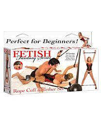 Fetish Fantasy Rope Cuff & Tether Set 1