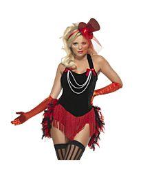 Feather Burlesque Costume 1