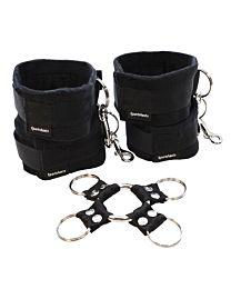 Sportsheets Hog Tie & Cuff Set