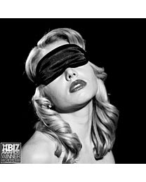 Sex & Mischief Satin Black Blindfold 1