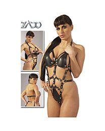 Zado Crotchless Leather Body 1