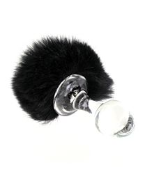 Crystal Delights Bunny Tail Butt Plug 1