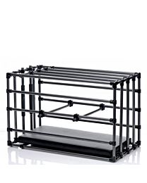 Master Series Kennel Adjustable Puppy Cage With Padded Board 1
