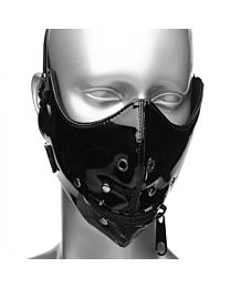 Master Series Lektor Zipper Mouth Muzzle 1