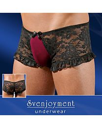 Svenjoyment Divine Lace Trunks 1