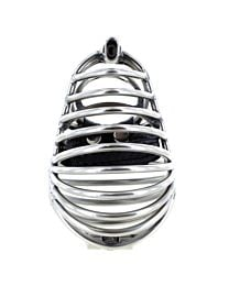 Stainless Steel Seed Pod Chastity Cage 1