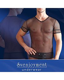 Svenjoyment V-neck Net Shirt 1