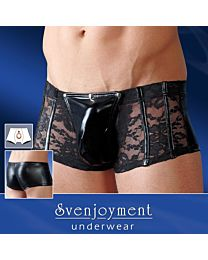 Svenjoyment Wetlook and Lace Trunks 1