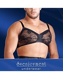 Svenjoyment Men's Lace Bra 1