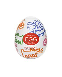 Tenga Egg Street by Keith Haring 1