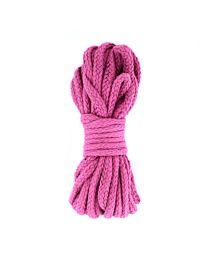 UberKinky Braided Cotton Bondage Rope Pink 32ft 10m 1