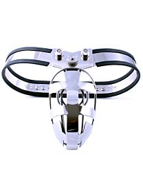 Behind Barz BBCS Complete System With Enclosed Cage Chastity Belt Oval Ring 1