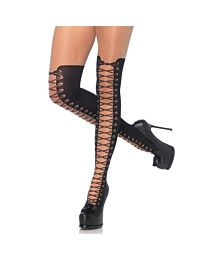 Leg Avenue Tights with Faux Boot 1