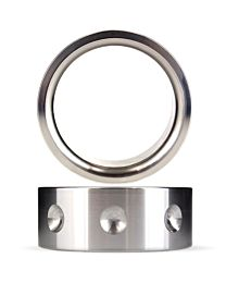 Gear Essentials Total Plunge Aluminium Cock Ring 1