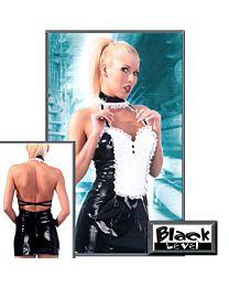 Black Level Fancy Wet Look French Maid Uniform 1