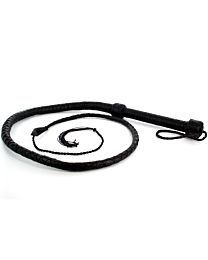UberKinky Saddle Leather Single Tail Long Whip 65 inches 1