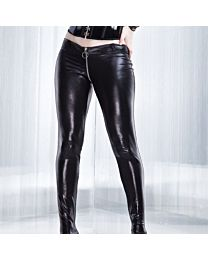 Coquette Darque Wet Look Trousers 1