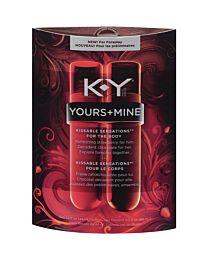 KY Yours+Mine Kissable Sensations 2 x 44ml 1