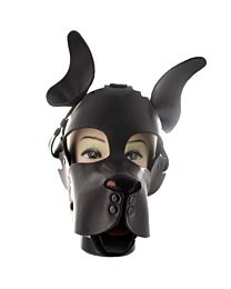 Mr S Leather Woof Dog Muzzle Hood