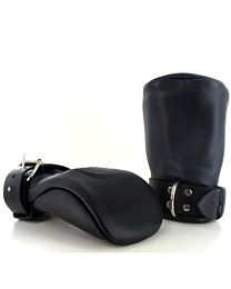 Strict Leather Deluxe Padded Fist Mitts 1