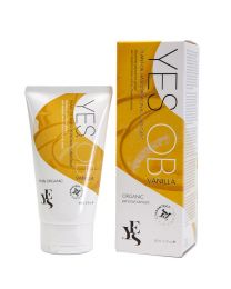 Yes OB Vanilla Plant Oil Based Natural Personal Lubricant 80ml 1