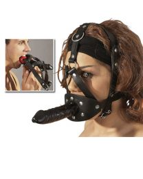 Head Harness With Dildo 1