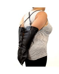 Leather Arm Binder 1