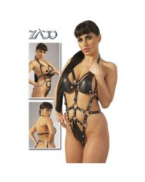 Zado Crotchless Leather Body 1