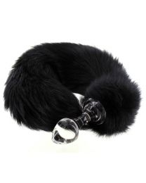 Crystal Delights Minx Tail Butt Plug 2.7 Inches 1
