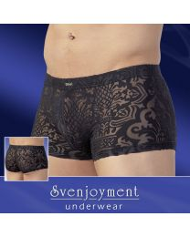 Svenjoyment Baroque See Through Boxer Shorts 1