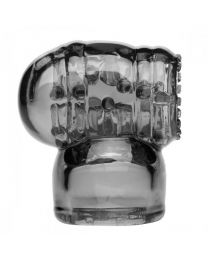Wand Essentials Black Vibra Cup Male Masturbation Wand Attachment 1