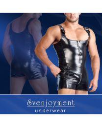 Svenjoyment Men's Wetlook Overall 1