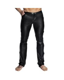 Noir Handmade Mens Wet Look & PVC Trousers 1