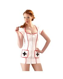 Black Level Wet Look Nurse Uniform 1