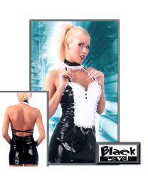 Black Level Fancy Wet Look French Maid Uniform 1