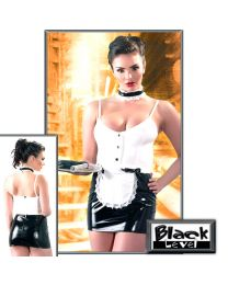 Black Level Wet Look Maid Uniform 1