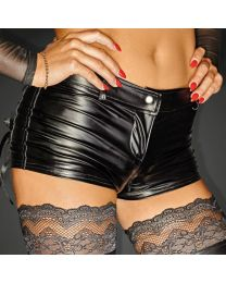 Noir Handmade Power Wetlook Shorts 1
