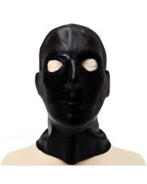 Anatomical Masculine Full Head Latex Hood 1