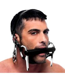 Master Series Steed Silicone Bit and Bridle Head Harness 1