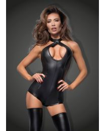 Muse Short Powerwetlook Body with Lace Cleavage 1