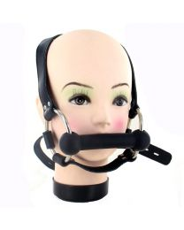 Strict Leather Locking Silicone Trainer Bit Gag 1
