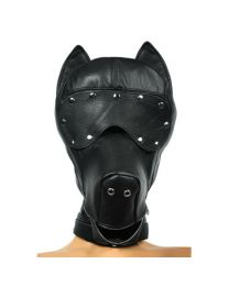 Strict Leather Ultimate Leather Dog Hood 1